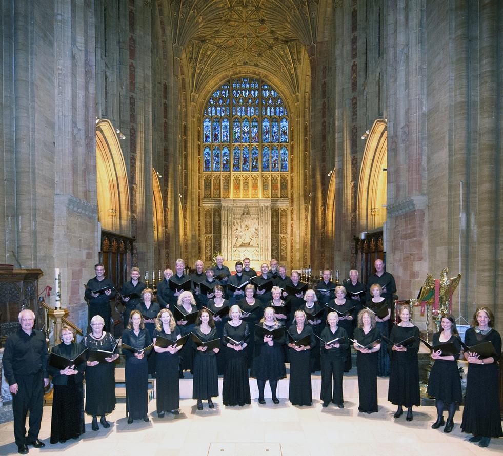Sherborne Chamber Choir June 2015